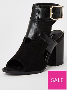 river-island-cut-out-shoe-boots-black