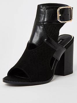 river-island-cut-out-shoe-boots-black