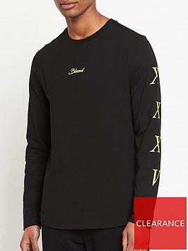 tommy-hilfiger-lewis-hamiltonnbsplong-sleeve-logo-t-shirt-black