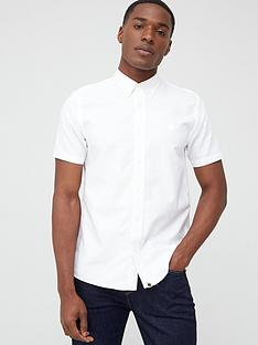 pretty-green-sterling-short-sleeve-oxford-shirt-white