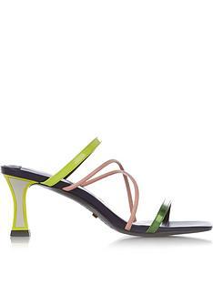 kat-maconie-pari-multi-strap-neon-mules-neon-yellow
