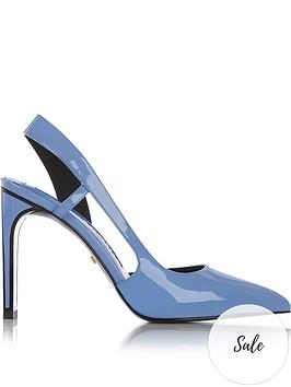 kat-maconie-daya-flat-back-stilettonbspcourt-shoes-blue