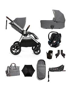 mamas-papas-ocarro-complete-9-piece-travel-system-bundle-grey-mist