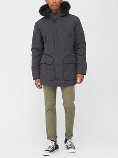 very-man-fauxnbspfur-hood-parka-black