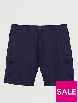 lyle-scott-big-amp-tall-cargo-shorts-navy