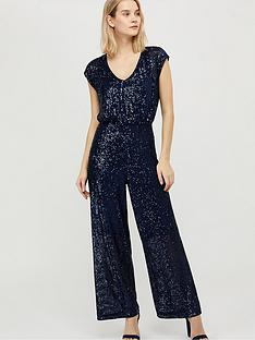 monsoon-leila-sequin-v-neck-jumpsuit-navy