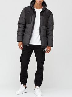 very-man-four-pocket-contrast-jacket-black