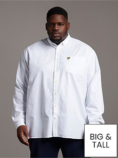 lyle-scott-big-amp-tall-long-sleeved-oxford-shirt-white