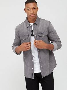 calvin-klein-jeans-modern-western-shirt-grey