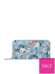cath-kidston-clifton-rose-continental-zip-wallet-vintage-blue