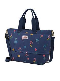 cath-kidston-twilight-sprig-expandable-travel-bag-navy