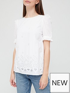 v-by-very-broderie-puff-sleeve-blouse-white