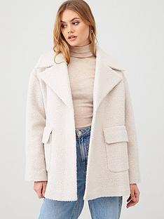 river-island-boucle-swing-coat-ivory
