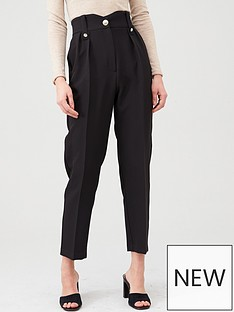 river-island-river-island-high-waist-peg-trouser-black