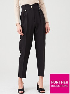 river-island-river-island-high-waist-peg-trouser-black