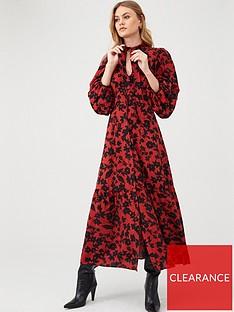 river-island-river-island-pussybow-midi-smock-dress-red