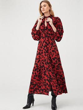 river-island-river-island-pussybow-midi-smock-dress-red