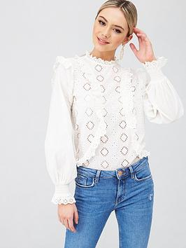 river-island-high-neck-victoriana-broderie-top-white