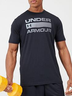 under-armour-team-issue-wordmark-short-sleeve-t-shirt-black