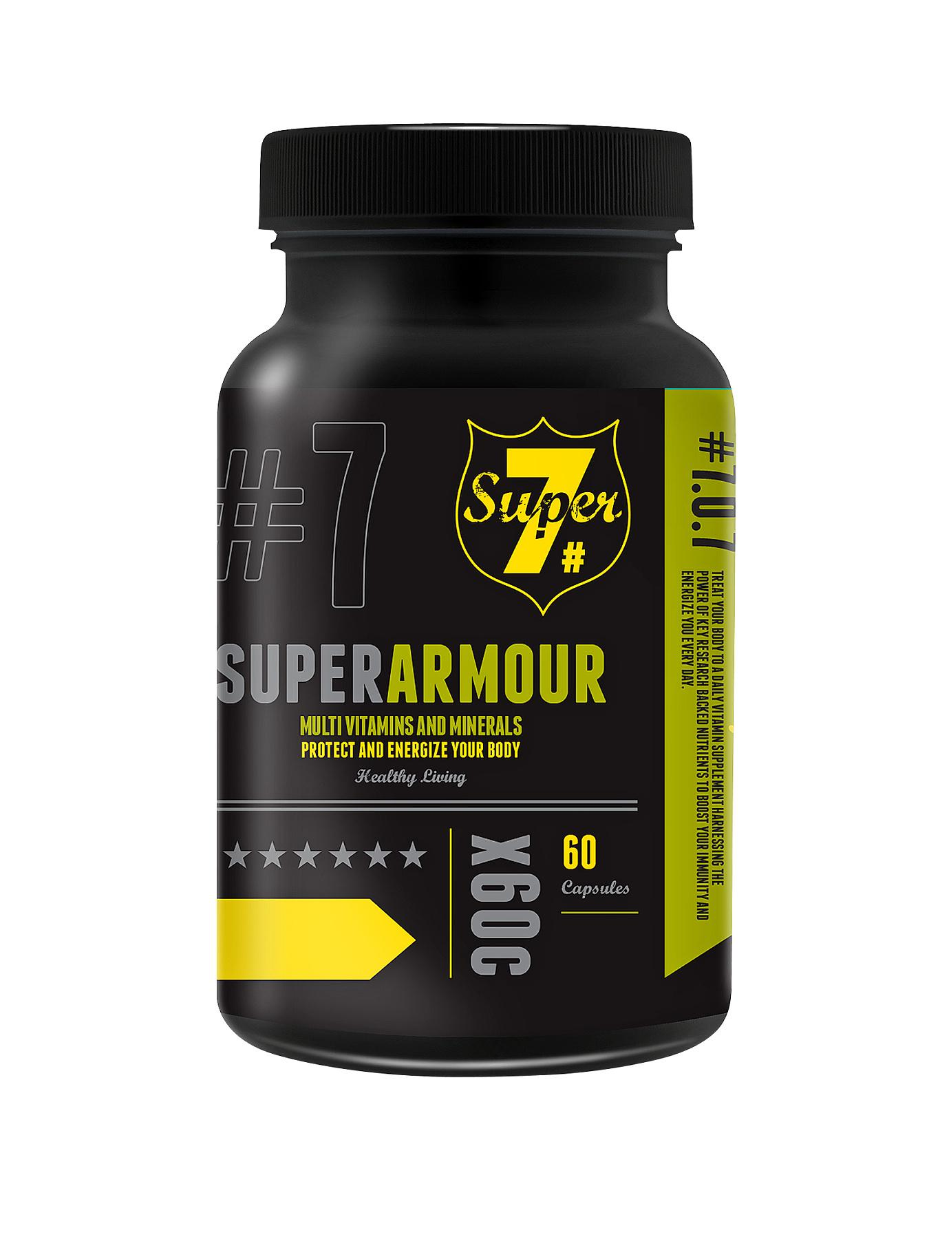 Super 7 Super Armour Vitamin 60