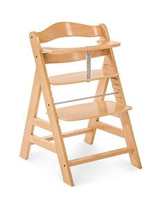 hauck-alpha-wooden-highchair-wood-finish