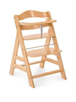 Hauck Alpha+ Wooden Highchair