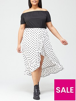 ax-paris-curve-two-in-one-dress-multi