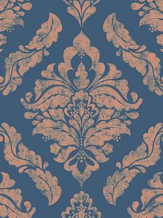 boutique-damaris-blue-gold-wallpaper