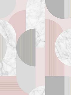 sublime-art-deco-geo-wallpaper