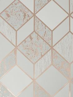 superfresco-vittorio-geo-greyrose-gold-wallpaper