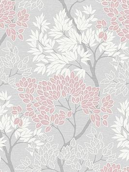 fresco-lykke-tree-pink-wallpaper