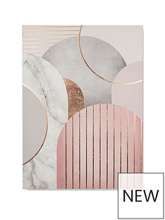 graham-brown-pink-amp-grey-art-deco-canvas-wall-art