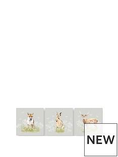 graham-brown-set-3-woodland-animals-canvases