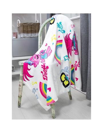 Official Shaun The Sheep Movie Cream Fleece Blanket Throw 100 x 150cm