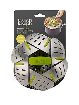 joseph-joseph-bloom-steel-folding-steamer-basket