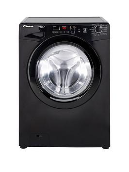 Candy Gvs 128Db3B Grand O Vita 8Kg Load, 1200 Spin Washing Machine - Black