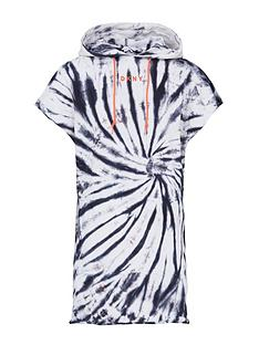 dkny-sport-tie-dye-hooded-sweater-dress-black