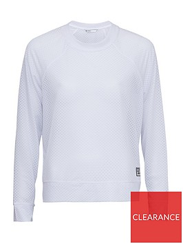dkny-sport-funnel-neck-long-sleeve-pullover-white
