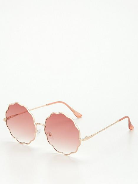 v-by-very-scallop-metal-frame-sunglasses-goldpinknbsp
