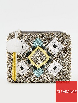 v-by-very-embroidered-sequin-zip-purse-multi