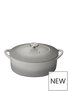 denby-natural-canvas-28-cm-oval-cast-iron-casserole-dish