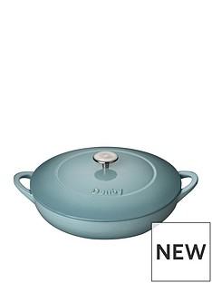 denby-pavilion-30cm-shallow-cast-iron-casserole-dish