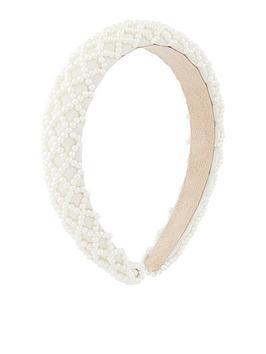 accessorize-padded-pearly-criss-cross-alice-headband-nude