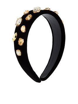 accessorize-gold-jewelled-alice-band-black