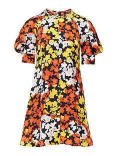 mcq-alexander-mcqueen-hisano-floral-print-mini-dress-yellow