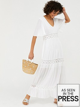 accessorize-lace-insert-sleeved-maxi-dress-white