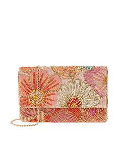 accessorize-kimmy-floral-beaded-clutch-multi