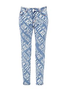 versace-jeans-couture-womenrsquosnbspall-over-logo-straight-leg-jeans-blue
