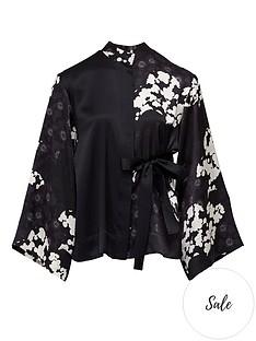 mcq-alexander-mcqueen-iki-floral-print-kimono-blouse-blackwhite