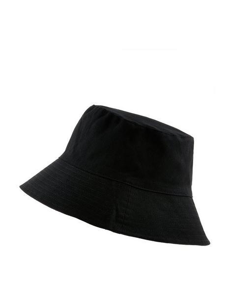 accessorize-utility-cotton-twill-bucket-hat-black